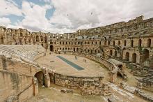 Interior arena